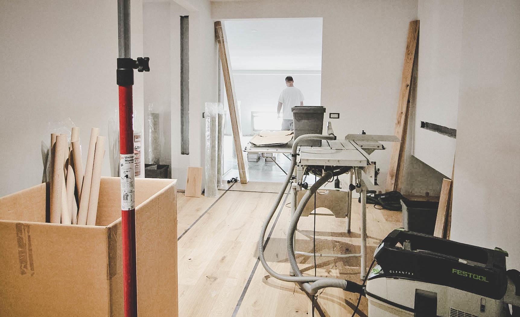Pavimento e rivestimenti in legno