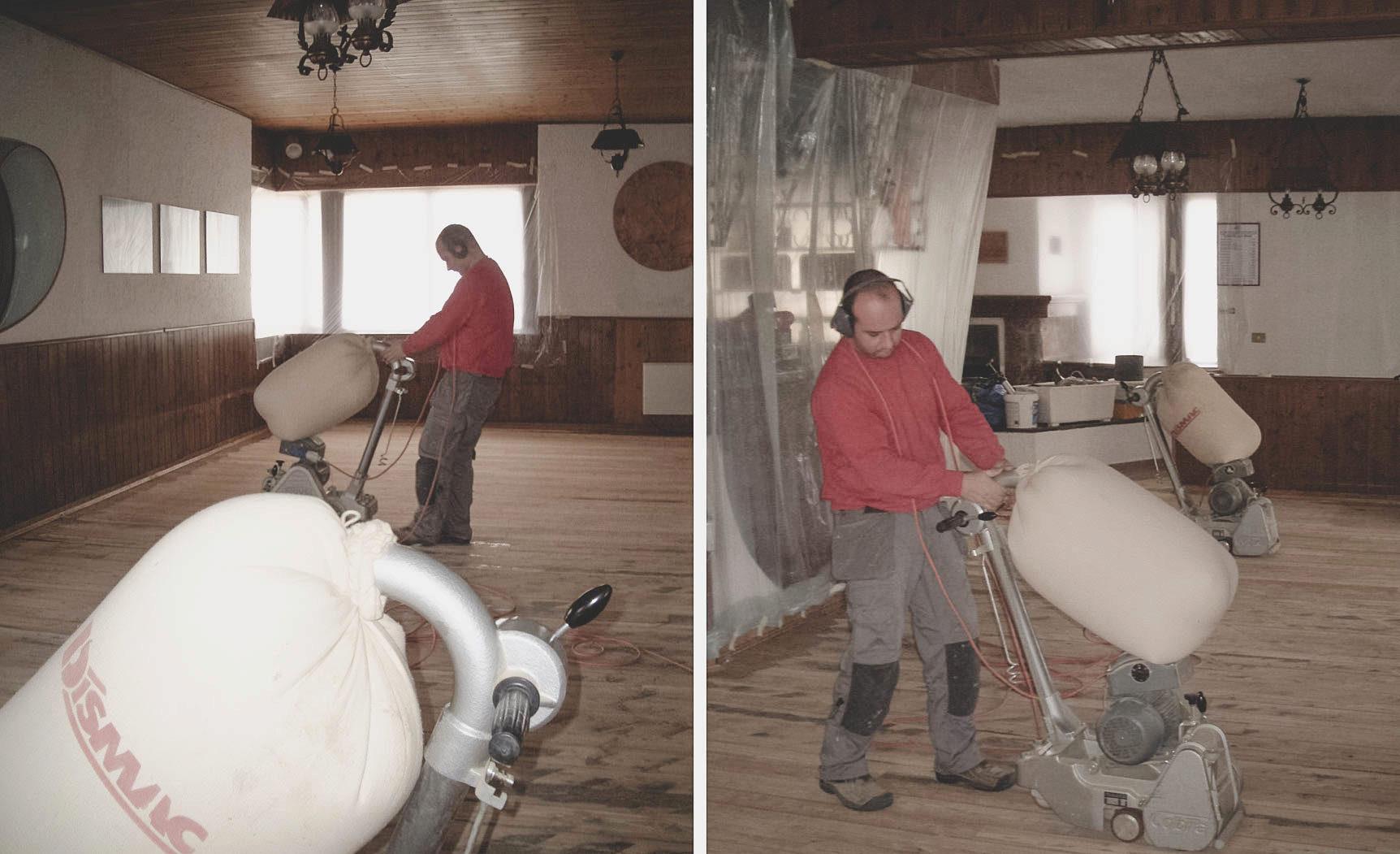 recupero pavimenti in legno