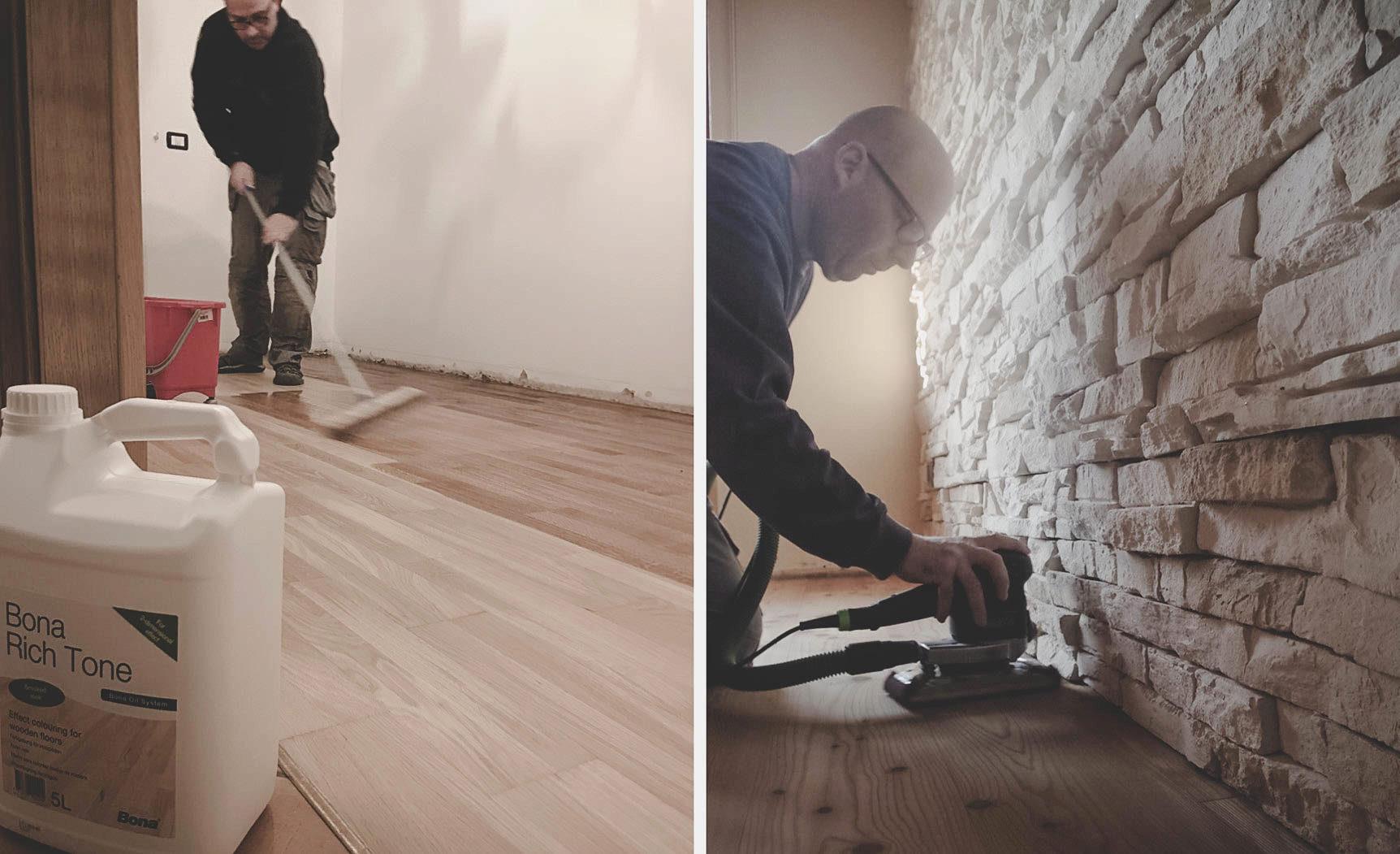 recupero e manutenzione pavimenti in legno