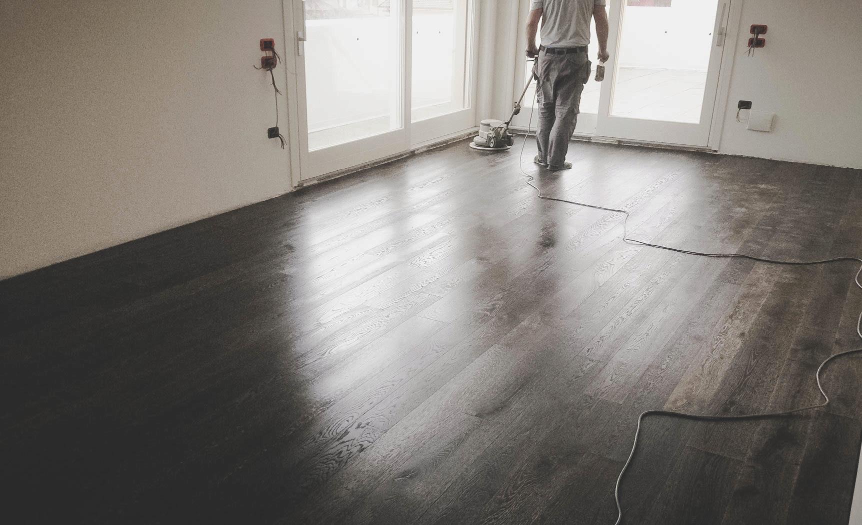 pavimenti parquet finitura