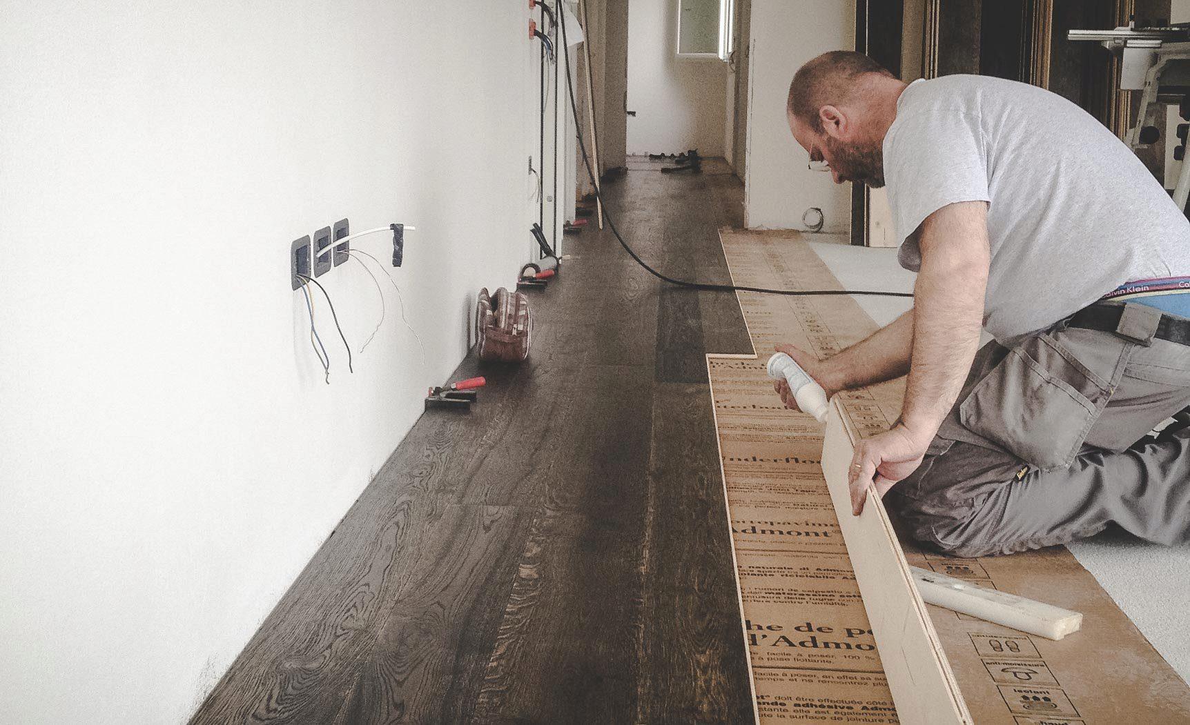 pavimenti in legno posa flottante