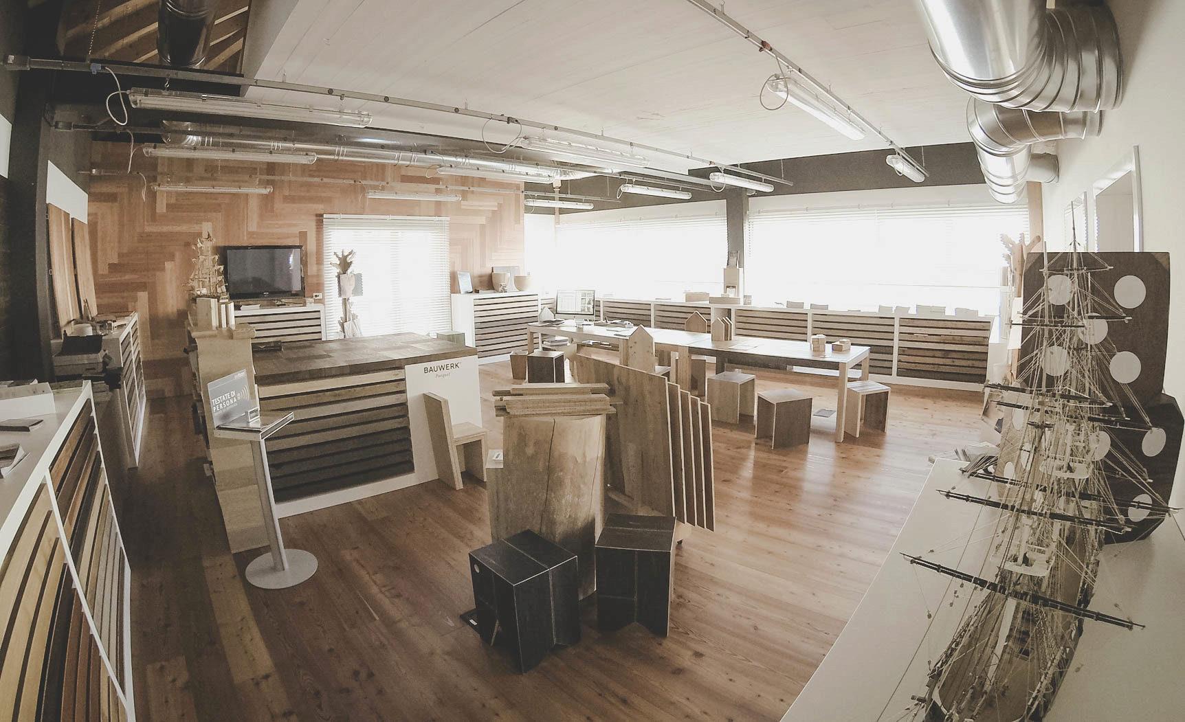 sede laboratorio pavimenti in legno